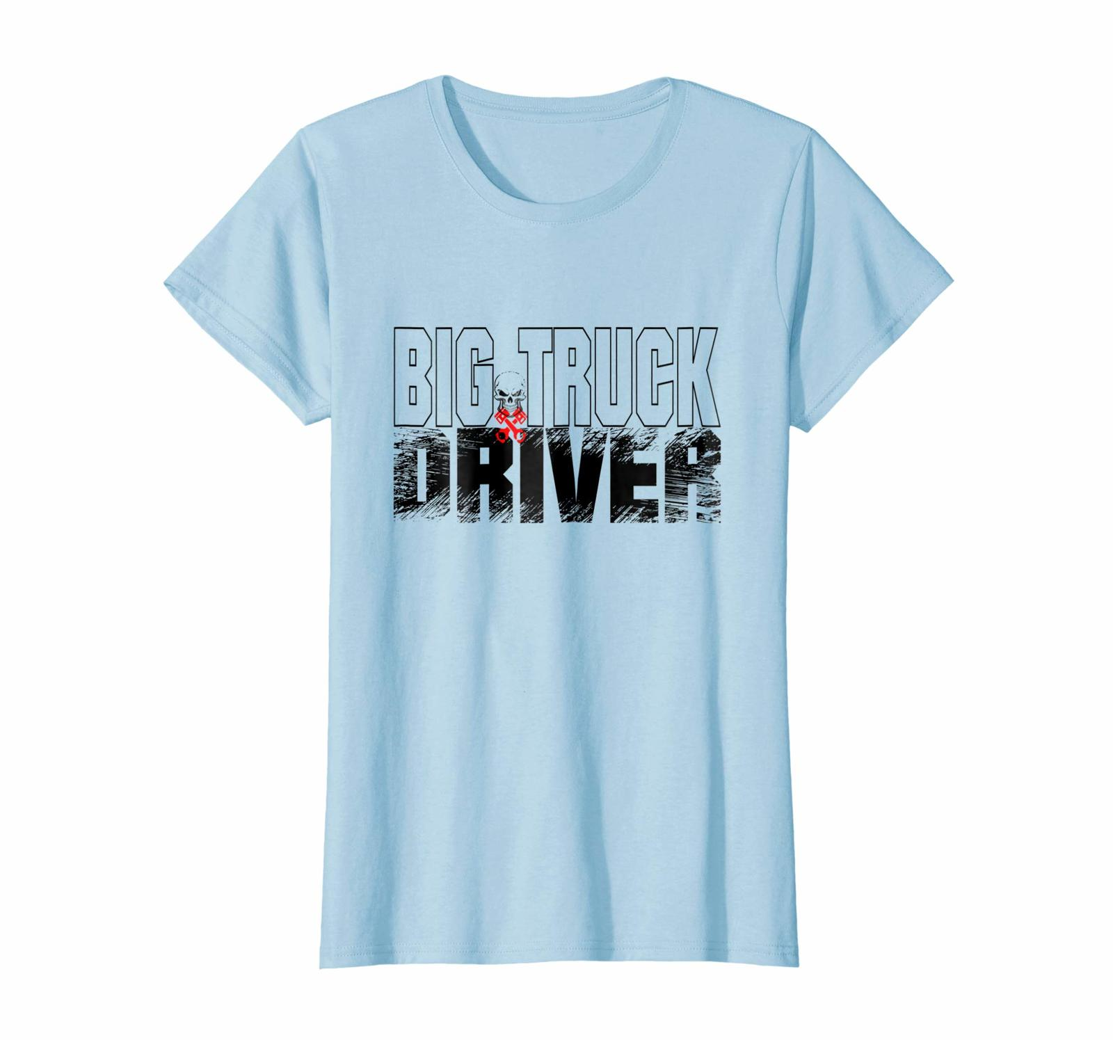 Brother Shirts - Big Truck Driver Trucker Diesel Mechanic T Shirt Wowen