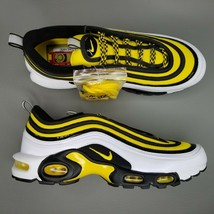 Nike Air Max Plus 97 Frequency Pack Shoes Mens SZ 11 Athletic Tour Yello... - $149.59