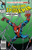 The Amazing Spider-Man #373 Newsstand Cover (1963-1998) Marvel Comics - $13.99