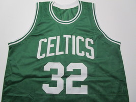 KEVIN MCHALE / NBA HALL OF FAME / AUTOGRAPHED BOSTON CELTICS CUSTOM JERSEY / COA image 2