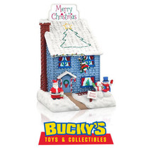 Deck the House! 2014 Hallmark  Christmas Lights Music  Santa  MP3 Tabletop Decor - $128.69