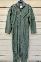 US AIR FORCE NOMEX FIRE RESISTANT FLIGHT SUIT GREEN CWU-27/P - 42R. - $59.40