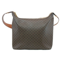 CELINE Macadam PVC Leather Shoulder Bag Brown Auth 8208 - $150.00