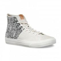 VANS Sk8 Hi Decon SPT CA (Italian Weave) Blanc de Blanc White Men's Skat... - $57.95