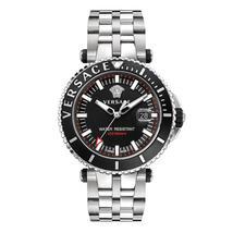 Versace VAK030016 V-RACE Diver Silver Stainless Steel Men's Watch - $2,578.91