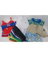 Build a Bear clothes lot NBA jersey top shorts Karate outfit pants shirts - $14.84