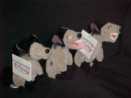 Hyena's Mini Plush Bean Bag Toy 2 With Tags The Lion King The Disney Sto... - $46.74