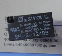 2pcs SH-S-124DB, 24VDC Relay, Sanyou Brand New!! - $5.74