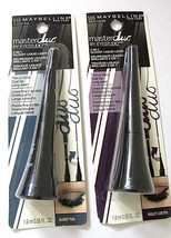 MAYBELLINE Liquid Eye Liner Master Duo Dual 2 in 1 Teal & Violet Lot of 3 Choose - $10.95