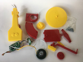 Replacement Part Yellow Red Fisher Price Music Box Record Player - $12.00