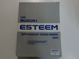 1999 Suzuki Esteem 1800 Supplementary Service Repair Manual FACTORY OEM BOOK - $63.32
