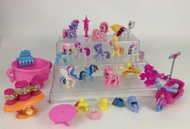 LOT (27) Hasbro My Little Pony Toy Figures & Accessories Old & New Gener... - $27.67