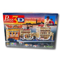 Wrebbit Puzz3D Jig Saw Puzzle A Street in Venice 191 pieces Model 04011 New - $24.95
