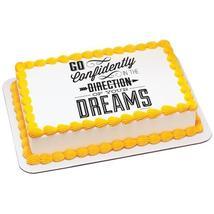 Go Confidently Edible Cake Topper Image - $9.99+
