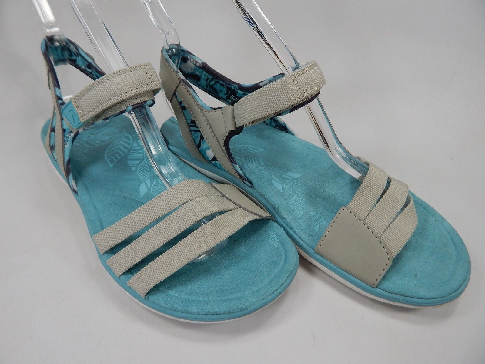 Keen Maya Strap Size US 7 M (B) EU 37.5 Women's Sports Sandals Aqua Blue / Gray