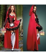 Sexy Cardinal Red Riding Hood Costume, Lingerie,Sale and Sexy Halloween ... - $56.00