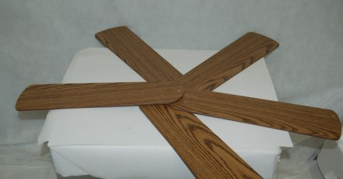 Replacement Reversible 5GBAV Cherry Oak Set Of Five Fan Blades Only