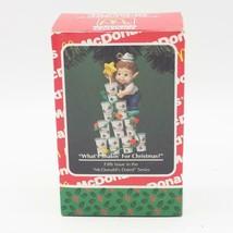 Vtg Enesco Mcdonalds What's Shakin Navidad Ornamento 1994 - $26.23