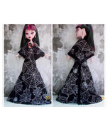 """17"""" Doll Clothes, Halloween Spider Dress, 17 Inch Doll Dres - $10.00"""