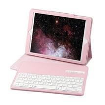 iPad Pro 12.9 Case Bluetooth Keyboard PU Leather Kickstand Protective Pi... - $48.10
