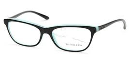 New Tiffany & Co. Tf 2078 8163 Black Eyeglasses Frame 55-16-140 B34 Italy - $113.84