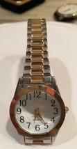 "Vintage 1980's M.Z. BERGER Quartz Watch WS17B With Stretch Band 6"" 358 P... - $4.95"