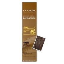 Clairol Premium Creme 4NN Light Rich Neutral Brown 2 oz - $8.76
