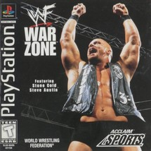 WWF Warzone [PlayStation] Acclaim Sports featuring Stone Cold Steve Austin - $14.43