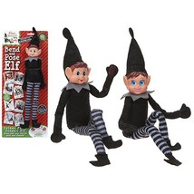 "16"" Deluxe Bend & Pose Arthur The Naughty Elf - Naughty Elves Designed F... - $14.69"