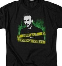 CSI t-shirt Gil Grissom People lie Evidence doesnt graphic tee CBS378B image 3