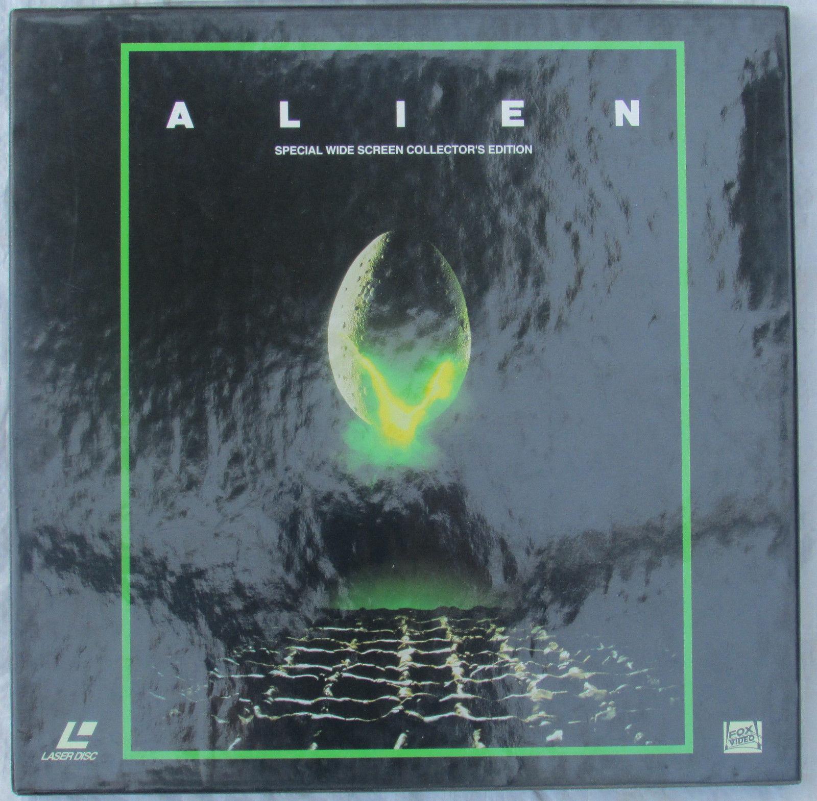 Alien on laserdisc movie