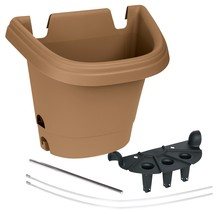 Bloem Hanging Garden Planter System 3 Pack, Chocolate (482125-1001) UNITS - $31.07 CAD