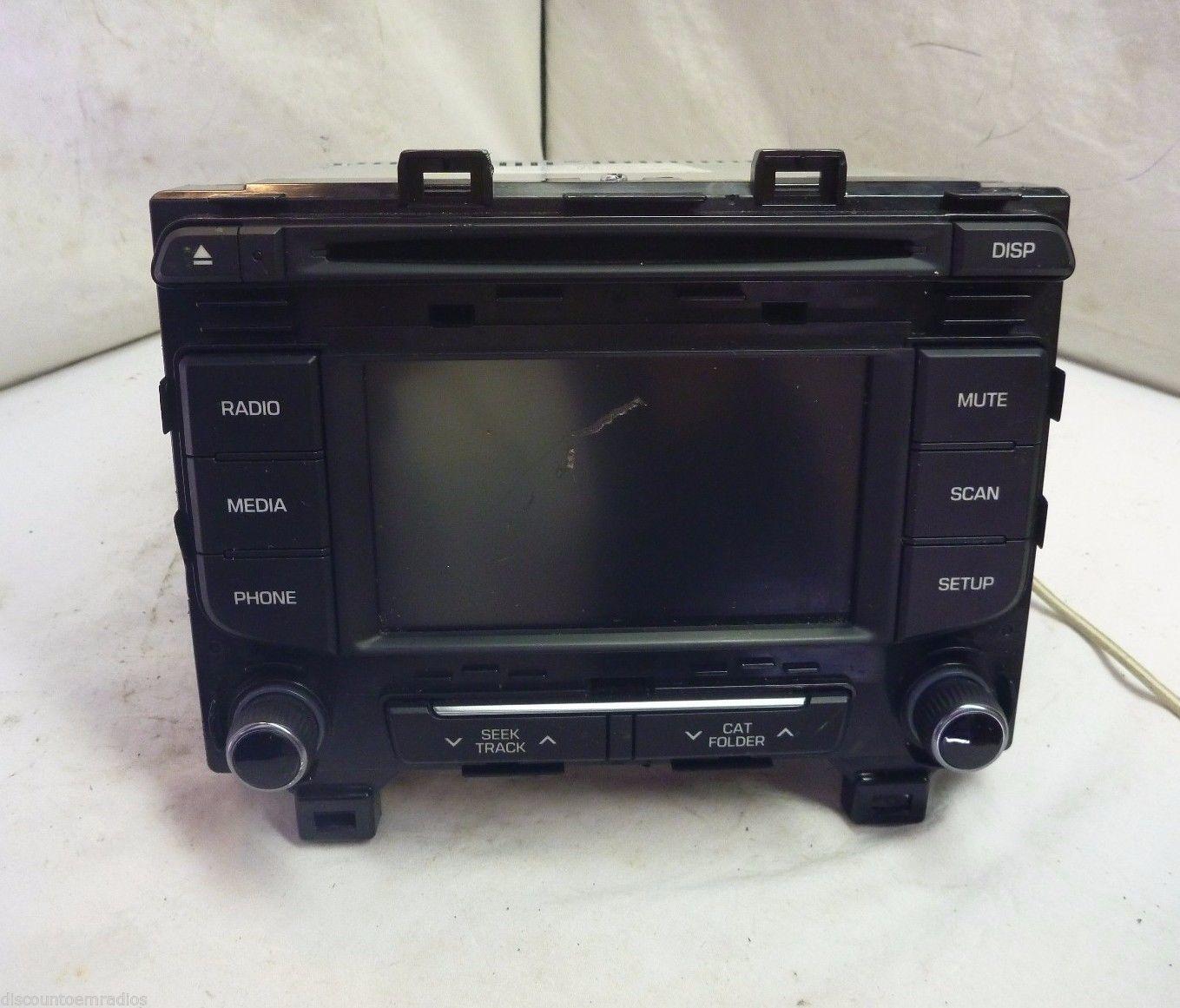 15 2015 Hyundai Sonata Radio Cd MP3 Player 96180-C20004X C57571