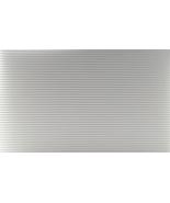 "DOLLHOUSE MINIATURE 12 x 16"" WHITE TIN ROOF PANEL #MH5337 - $8.99"