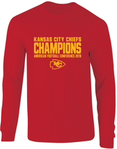 Chiefs Super Bowl LIV AFC Champions Long Sleeve T-Shirt - $23.99+