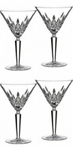 Waterford Lismore Cocktail Glass Set Two sets 4 Cocktail Glasses # 156474 New - $273.49