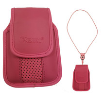 Around the neck pink hanging case and lanyard fits Alcatel Fling - $19.79