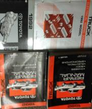 1992 toyota truck service repair workshop manual oem set 92 w ewd + - $316.76