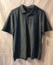 Men's VanHeusen Studio Polo Shirt, Size Medium, Cotton Blend, Blue - $25.99