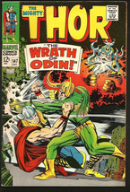 THOR #147 1st print & series JACK KIRBY Marvel Comics 1967 Silver Age ST... - $79.20