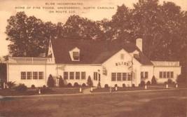 Bliss Incorporated Restaurant Route 220 Greensboro North Carolina 1952 p... - $6.88