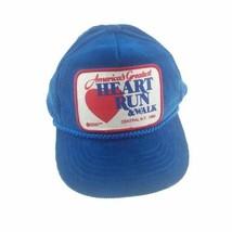 America's Greatest Heart Run & Walk Snapback Hat NY 1992 American Heart ... - $27.71
