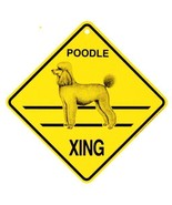 "Poodle  Xing Sign Dog Crossing NEW 10-3/4"" - $7.50"
