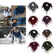 New Women Fashion Shawl Pashmina Warm Plaid Scotland Check Party Scarf S... - $350,79 MXN