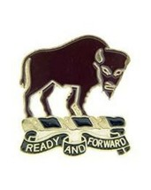 United States Army 10th Cavalry Regiment Right Hat Lapel Pin - $4.94