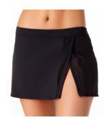 Liz Claiborne Swim Skirt Size S, M, L, XL Black Msrp $49.00 New - $24.99