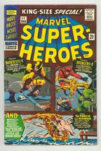 MARVEL SUPER-HEROES #1 1966-DAREDEVIL-SUB MARINER-AVENGERS-FN/VF - $126.10