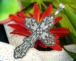 Cross pendant mexican mexico sterling silver overlay 925 signed cii thumb155 crop