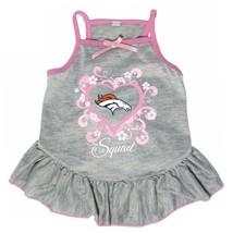 """Denver Broncos """"Too Cute Squad"""" Pet Dress - $17.95"""