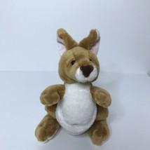 """Ganz Webkinz Kangaroo Plush Stuffed Animal Beanie 9"""" Tall No Code - $14.73"""